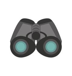 binoculars explorer spyglass observation vector image