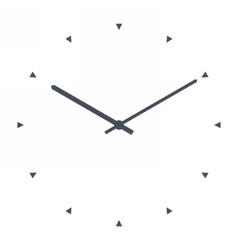 Simple classic clock vector image