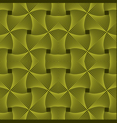 Abstract knitted swamp pattern vector