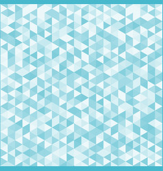 abstract striped geometric triangle pattern blue vector image