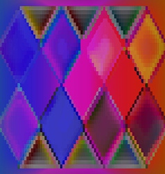 Background abstract colorful cubes vector image