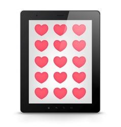 Digital Tablet Concept vector image