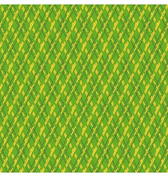 Green and yellow seamless mesh pattern vector