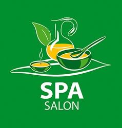 Logo accessories spa salon vector