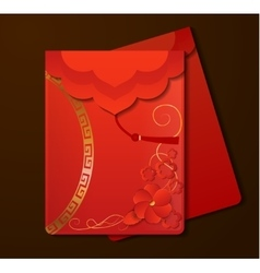 Red Envelopesw with free space vector
