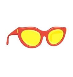 Sun glasses summer accessory vector image vector image