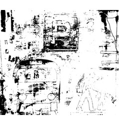 destroy texture 4 vector image