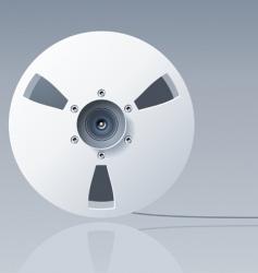 reel tape vector image vector image