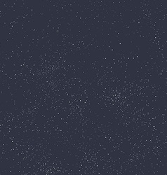 Night sky filled with stars vector image vector image