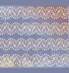 polka dot swirl lines burlap seamless pattern vector image