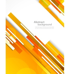 Background with orange lines vector