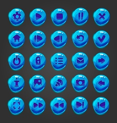Big set of button for game design vector