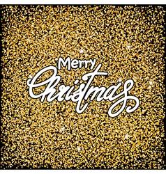 Black christmas background vector
