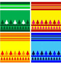 christmas backround vector image