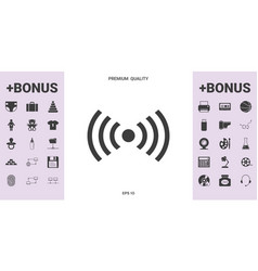 Internet connection icon - graphic elements for vector