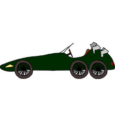 Old Sportscar vector