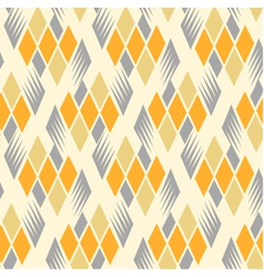 retro diamond repeat pattern 3 vector image