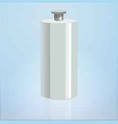 realistic mockup cosmetic bottle container vector image