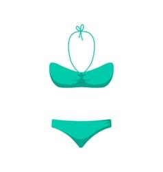 Women girl swim suit vector image vector image