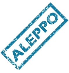 Aleppo rubber stamp vector
