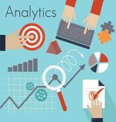 Analitics vector