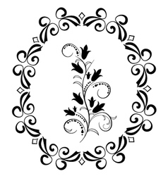 Flowers florishes 1 vector