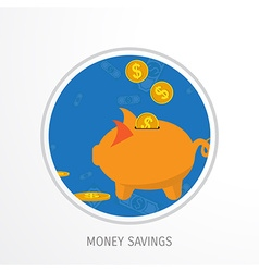 money savings concept vector image