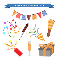 New year party celebration vector