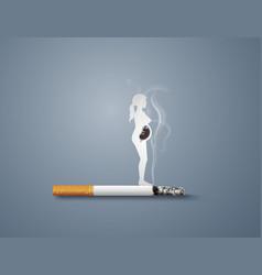 No smoking day world vector
