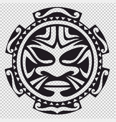 The tribal mask vector