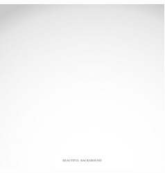 white and gray gradient studio abstract background vector image