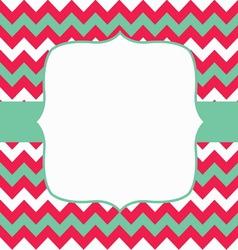 Invitation scrapbooking card vector image vector image