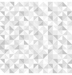 Seamless grey geometric pattern vector image vector image