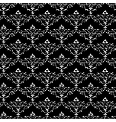 Vintage seamless wallpaper pattern vector image vector image
