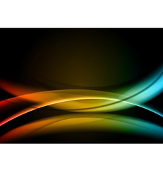 abstract background rainbow color vector image vector image
