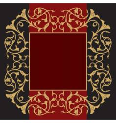 Classy frame vector