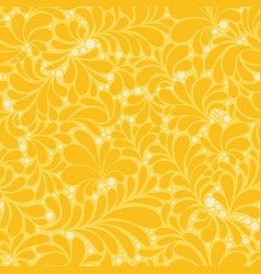 damask style abstract flat seamless pattern vector image