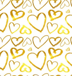 Hearts Seamless abstract pattern vector image
