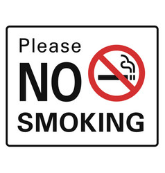 Please no smoking icon simple style vector