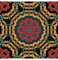 Seamless oriental tile pattern Vintage tribal vector