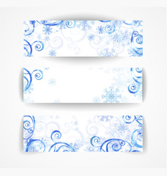 elegant christmas black and white banner vector image