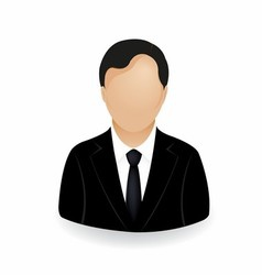 businessman icon symbol logo stock vector image vector image