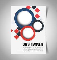 Abstract report cover 1 vector