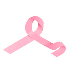 breast cancer disease icon isometric style vector image