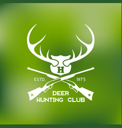 Hunt logo vector
