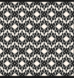 lace seamless pattern abstract black and white vector image