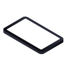 Modern smartphone icon isometric style vector