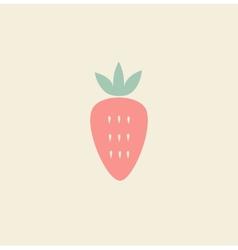 Strawberries vector