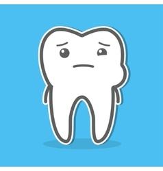 Toothache concept vector