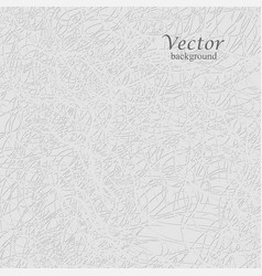 White thread on the gray background vector